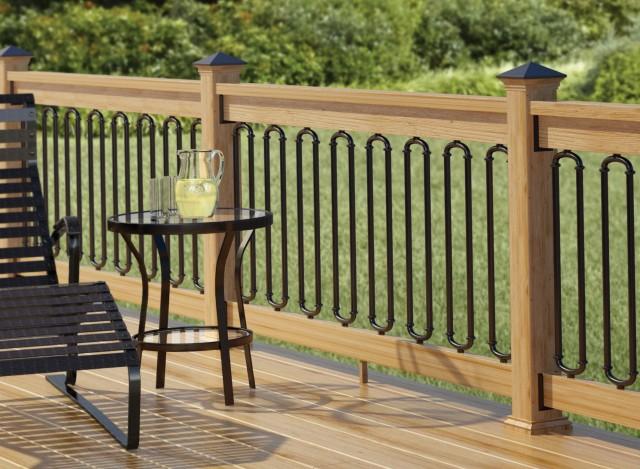Rod Iron Railings For Decks
