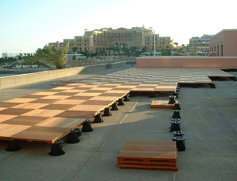 Roof Deck Tiles Wood
