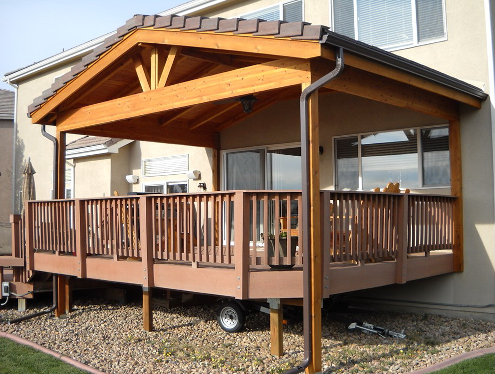 Roof Design Ideas: Roof Over Deck Design