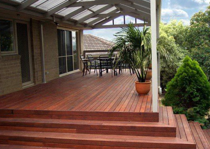 how to build a deck over a roof
