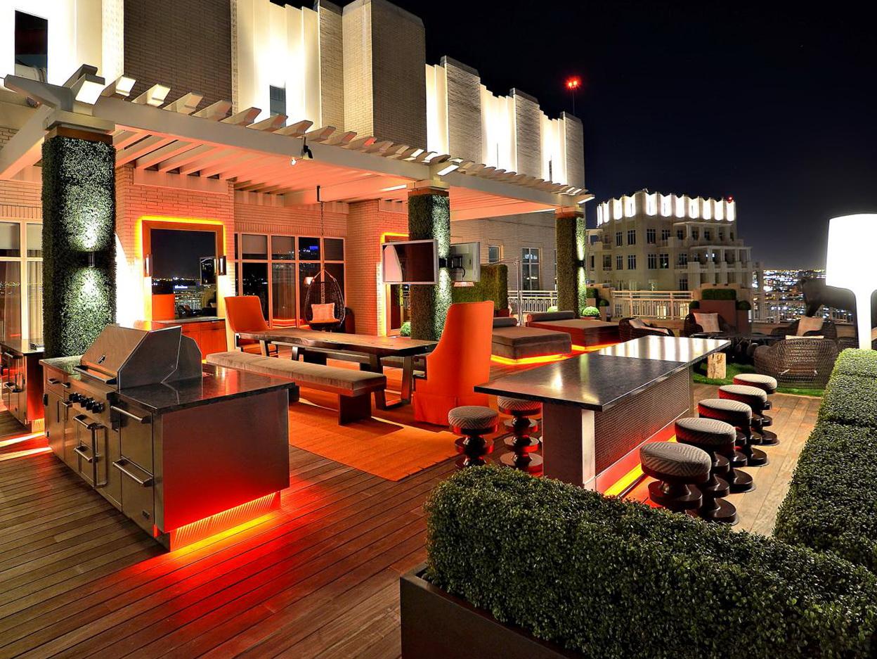 rooftop deck lighting ideas home design ideas