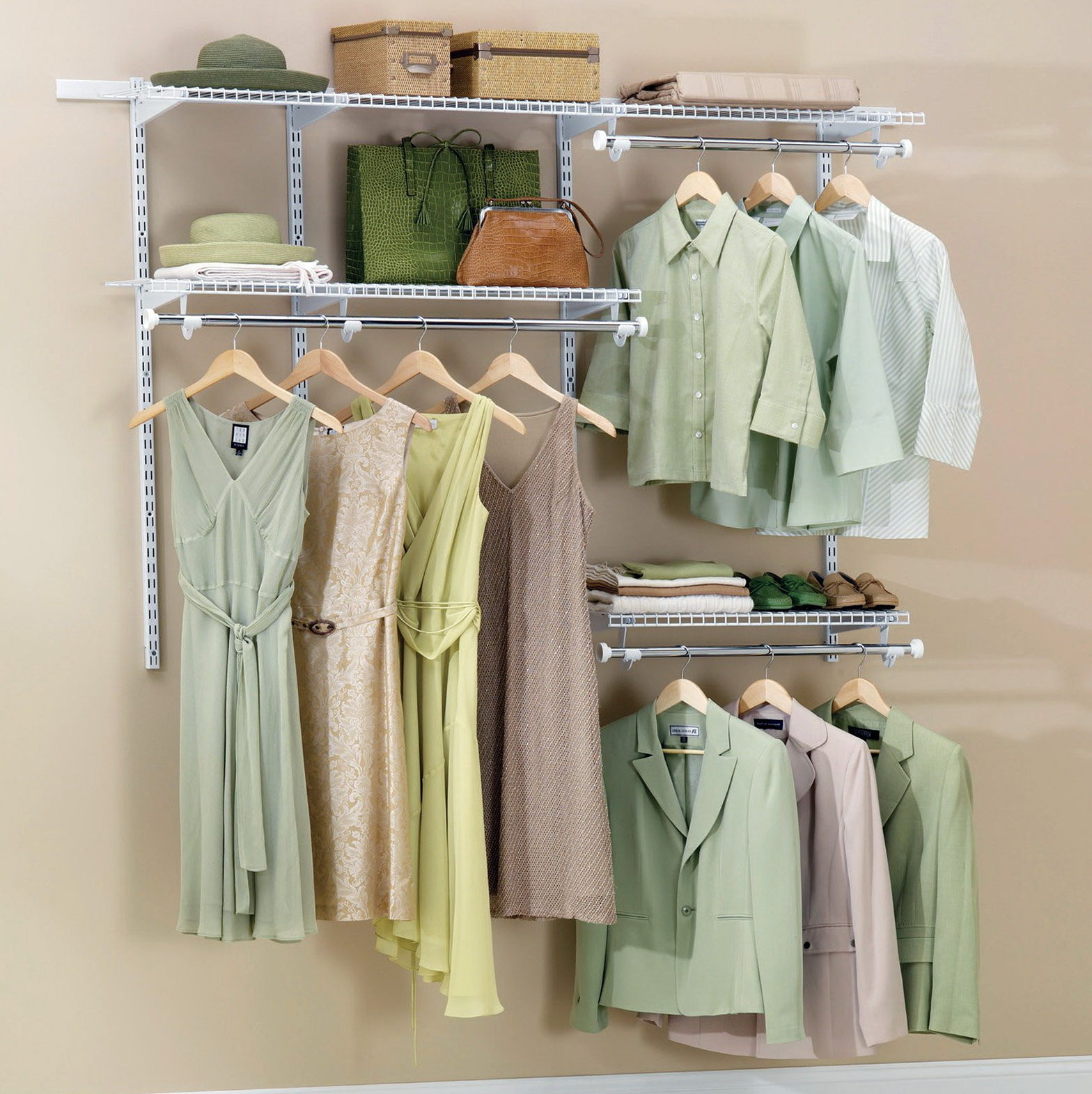 Rubbermaid Closet Shelving Brackets