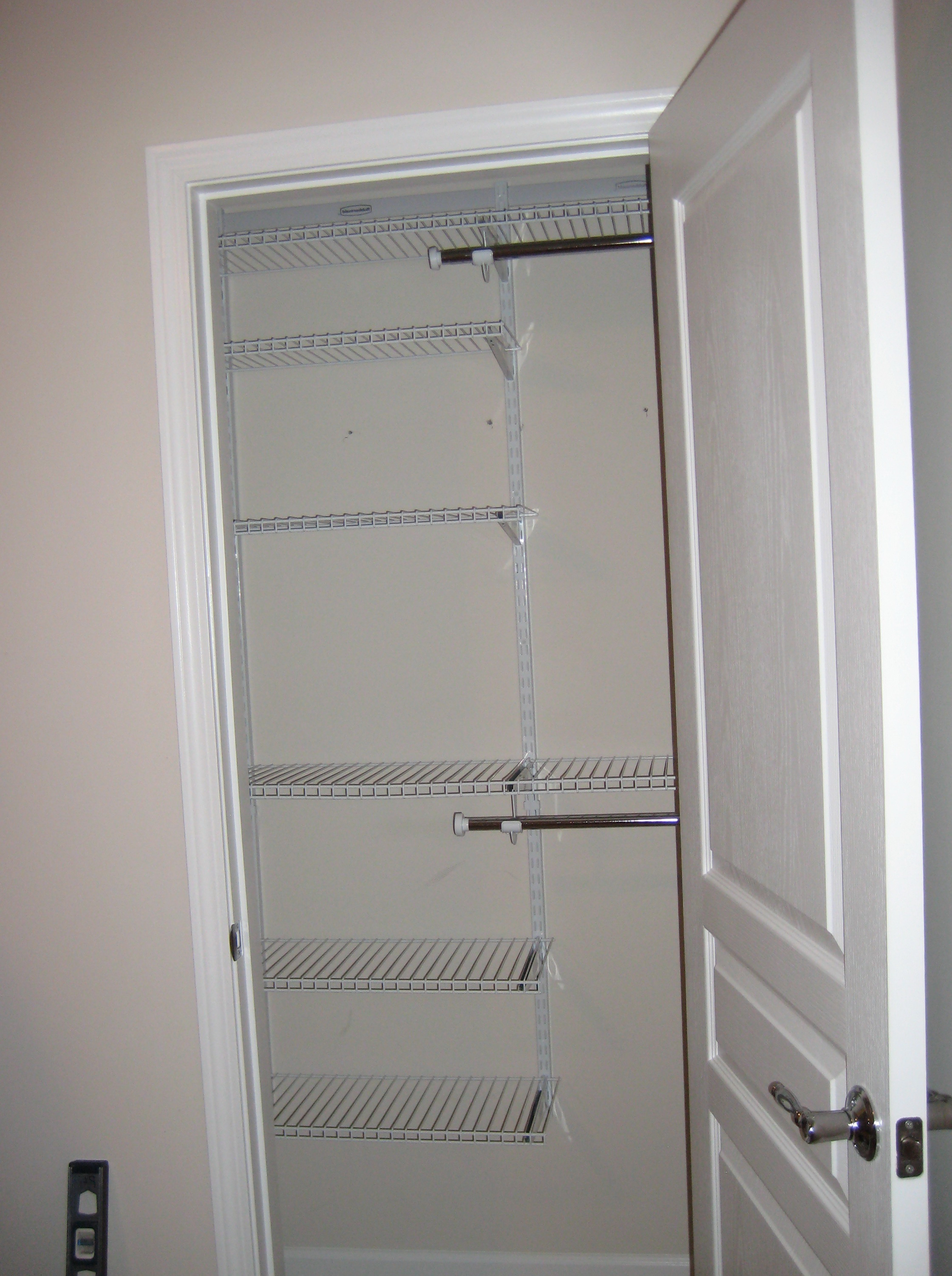 Rubbermaid Closet Shelving Instructions