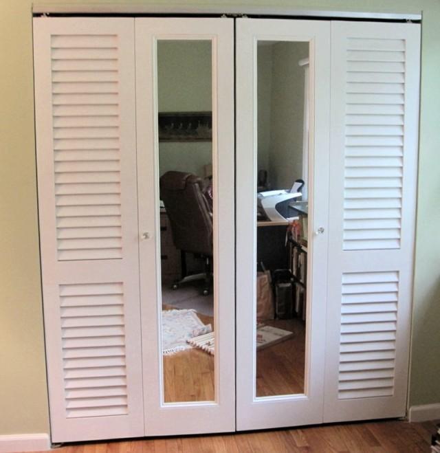 Sliding Shutter Closet Doors Closet Ideas