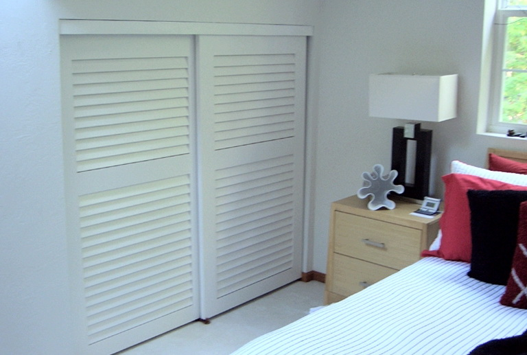 Sliding Shutter Closet Doors Home Design Ideas