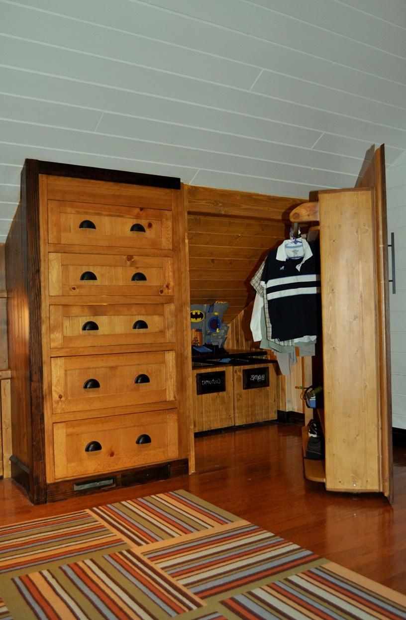 Small Attic Closet Ideas Home Design Ideas