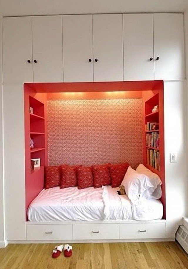 Small Bedroom No Closet Ideas Part - 41: Small Bedroom Without Closet Ideas