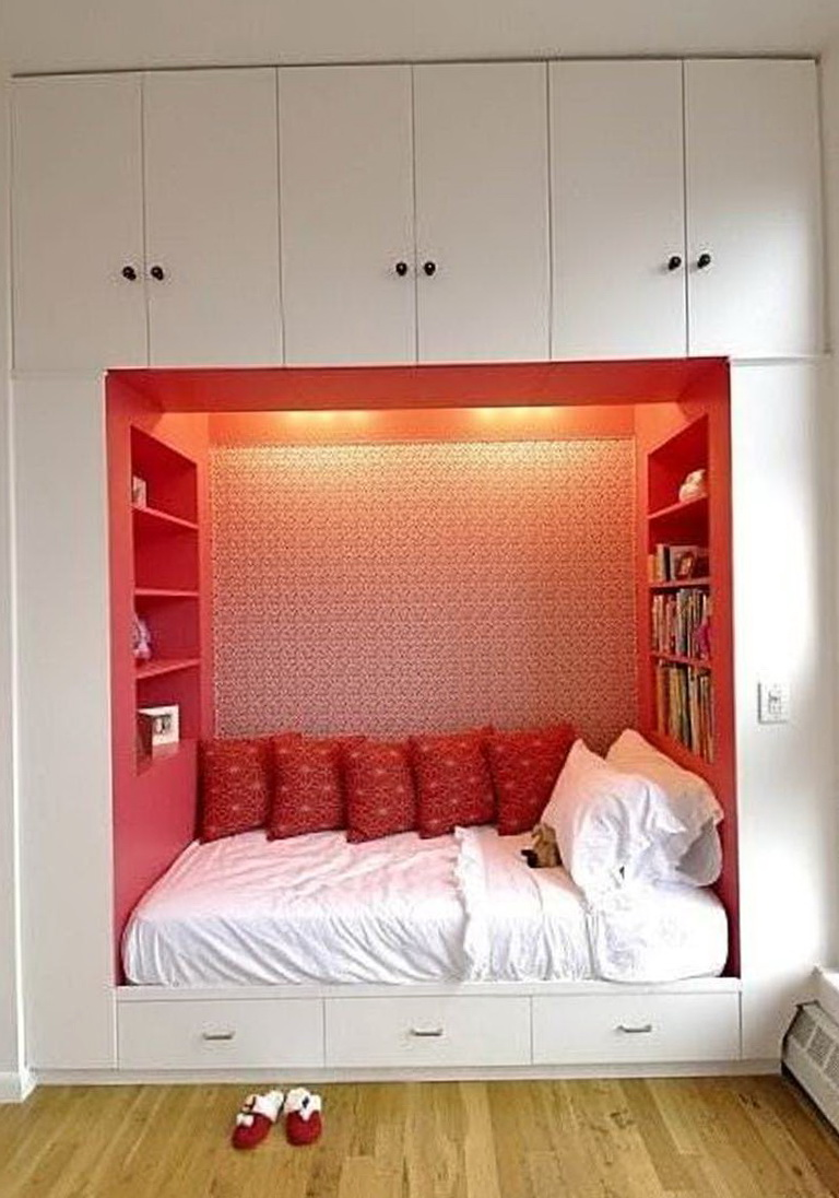 Small bedroom without closet ideas home design ideas - How to design a small bedroom ...