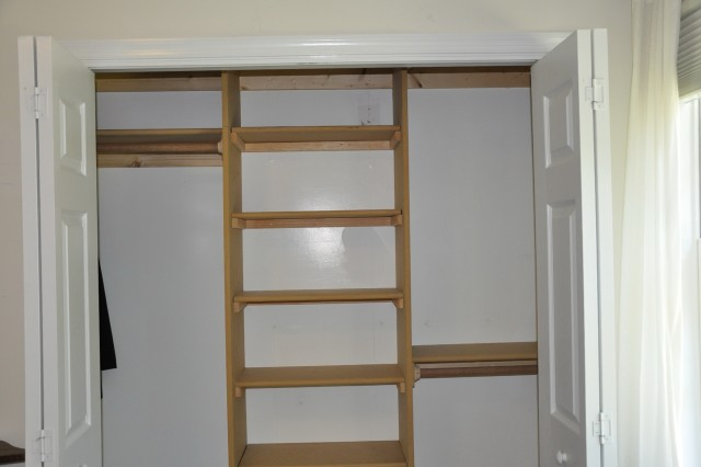 Small Closet Shelves Ideas