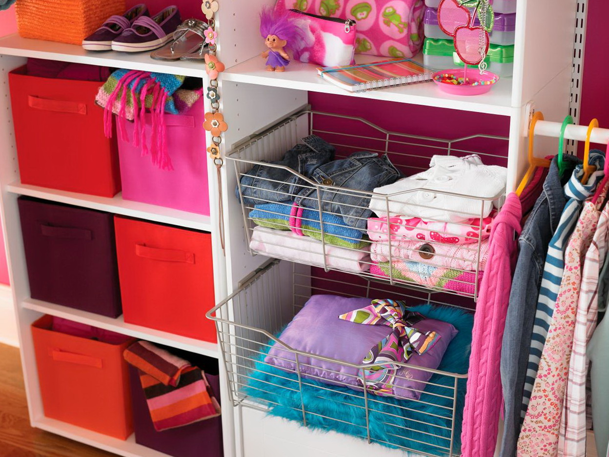 Small Hall Closet Organization