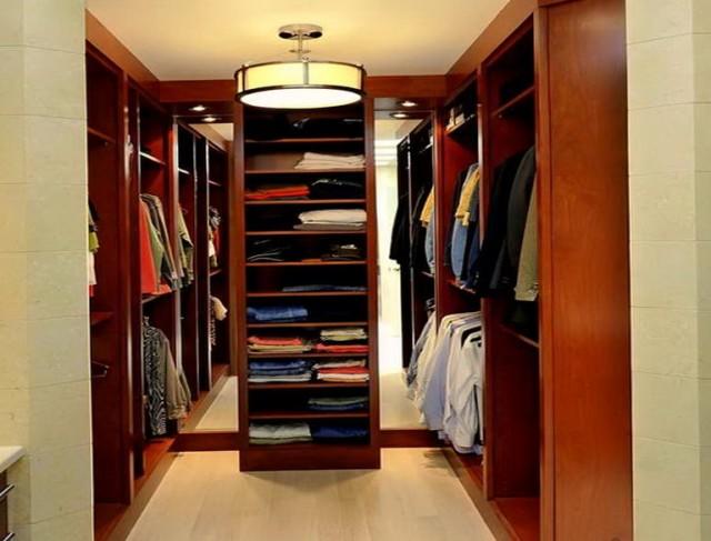 Walk in closet lighting houzz home design ideas - Small closet lighting ideas ...