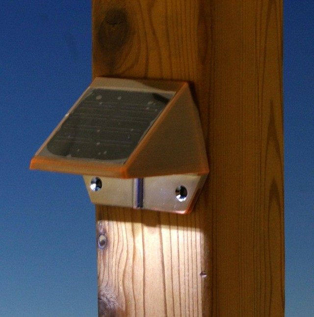 Solar Deck Lighting Home Depot
