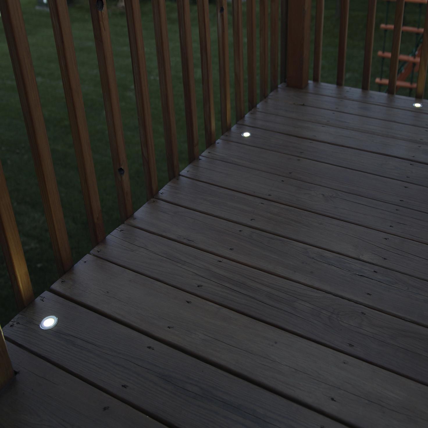 Solar Deck Lighting Ideas