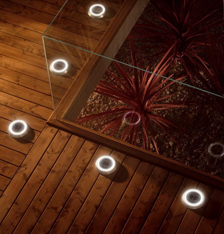Solar deck lights stairs home design ideas - Solar deck lights for steps ...