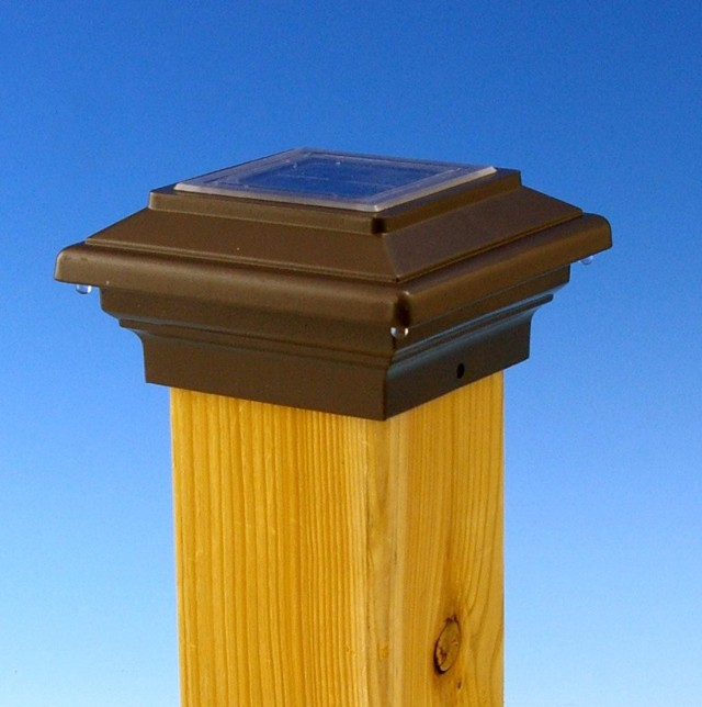 Solar Deck Post Lights