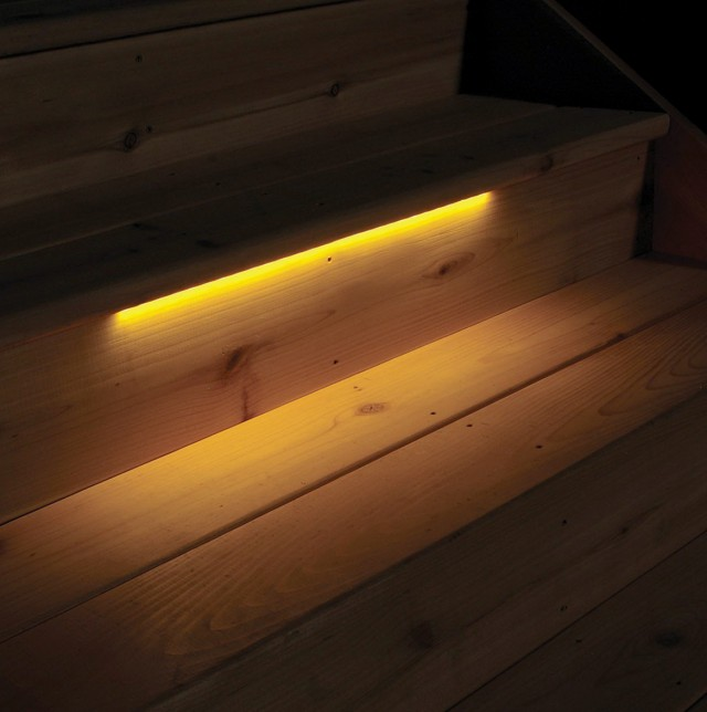 Solar Deck Step Lights Costco
