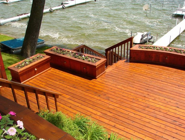 Stain And Seal A Deck