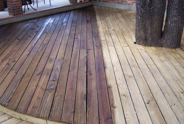 Staining A Deck Cost Home Design Ideas