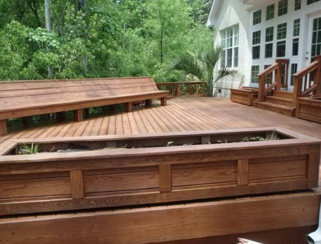 Staining A Deck That Has Been Painted