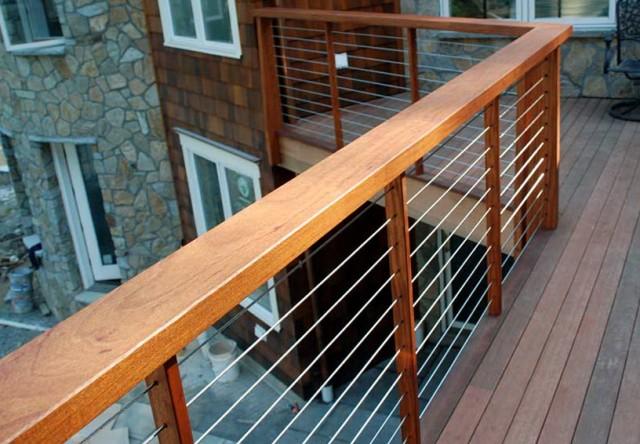 Steel Wire Deck Railing