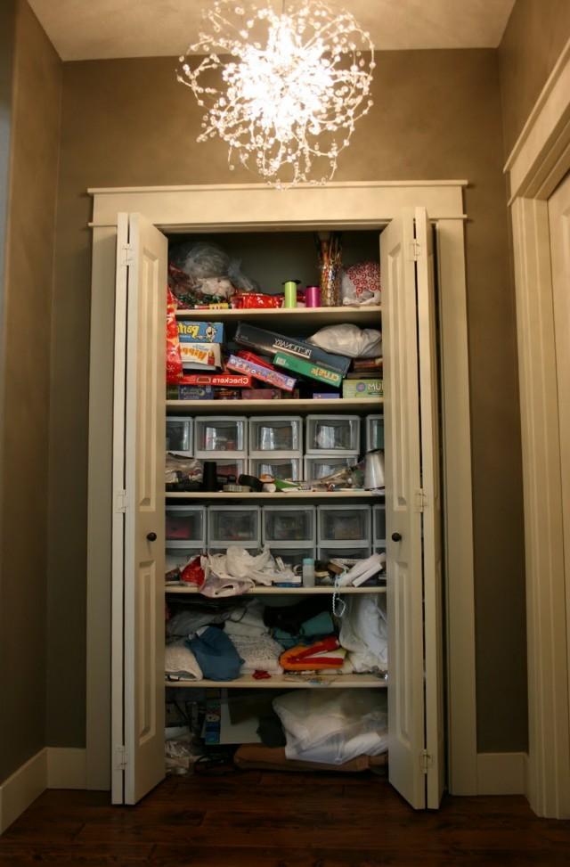 Storage Ideas For Hall Closets