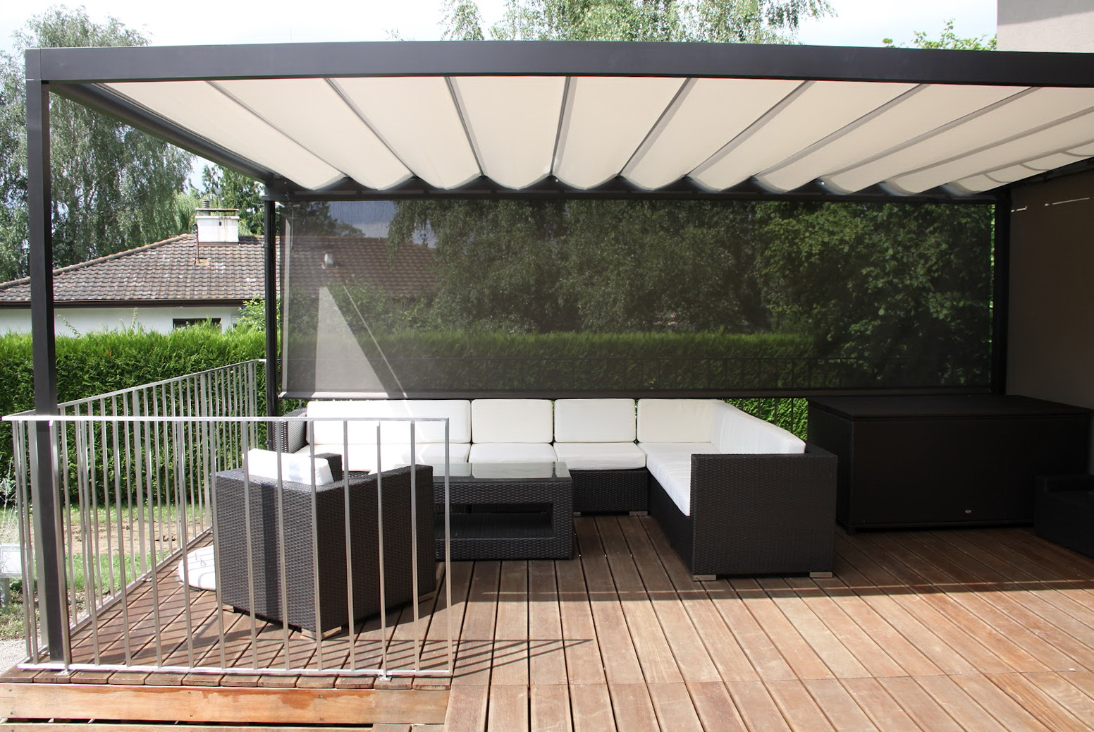 Sun shade for deck home design ideas - Shade ideas for a deck ...