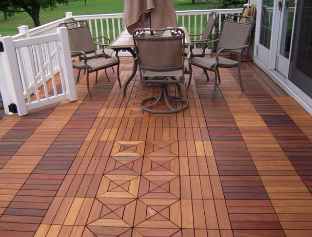 Swiftdeck Ipe Wood Decking Tiles