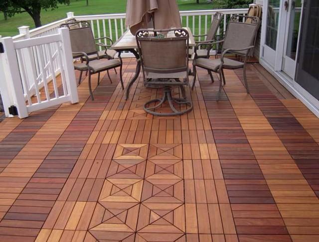 Swiftdeck Ipe Wood Decking Tiles
