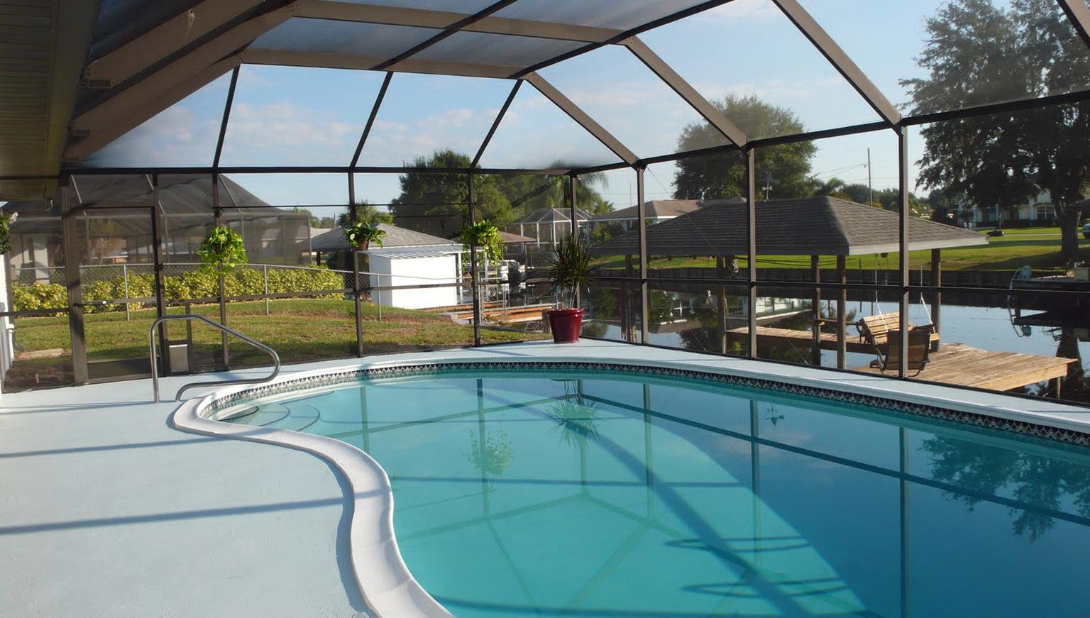 Swimming Pool Deck Paint
