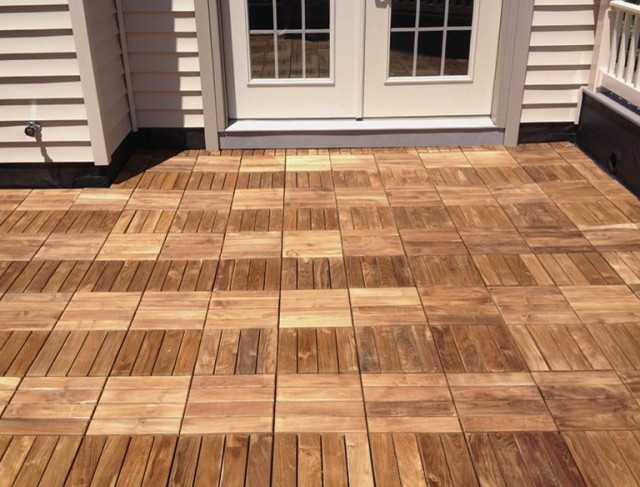 Teak Deck Tiles Canada