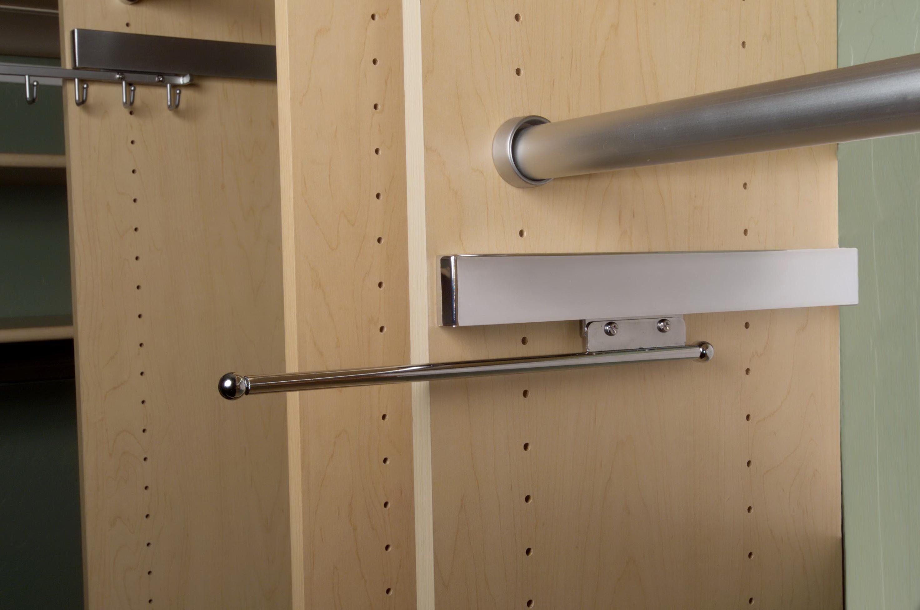 Telescopic Closet Valet Rod