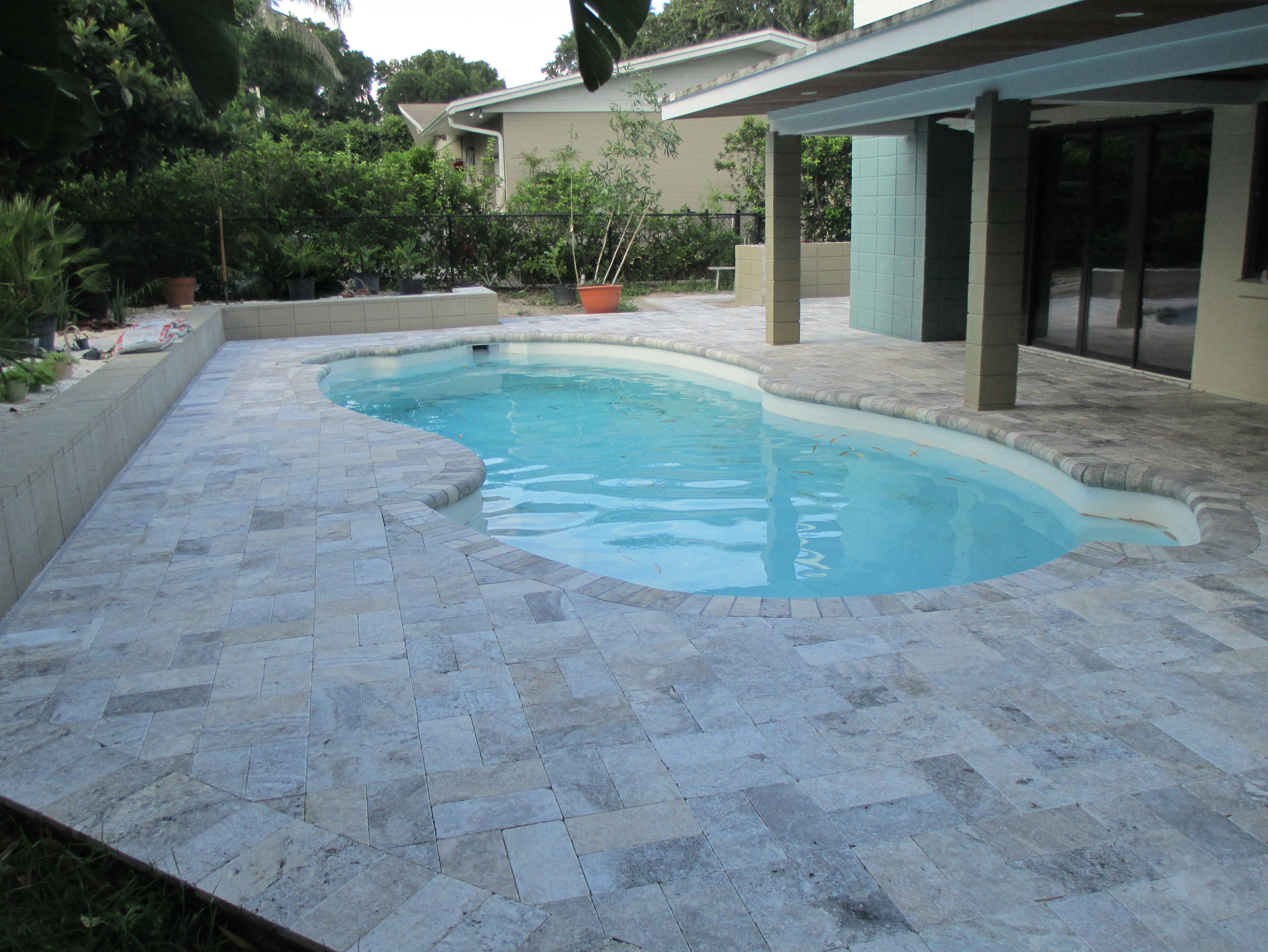Travertine Pool Deck Colors Home Design Ideas