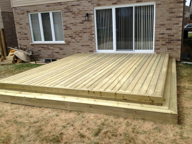 Trex Decking Installation Specs