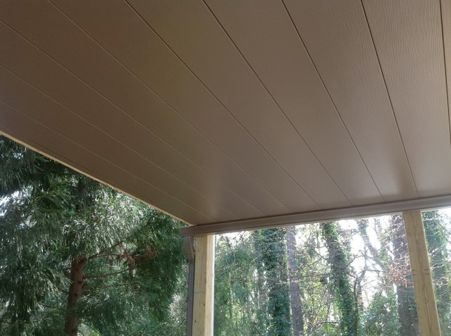 Tuftex Deck Drain Installation