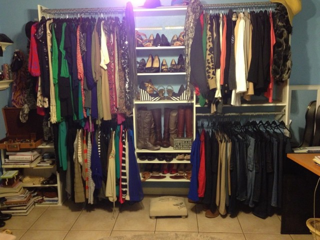Turning A Spare Bedroom Into A Closet