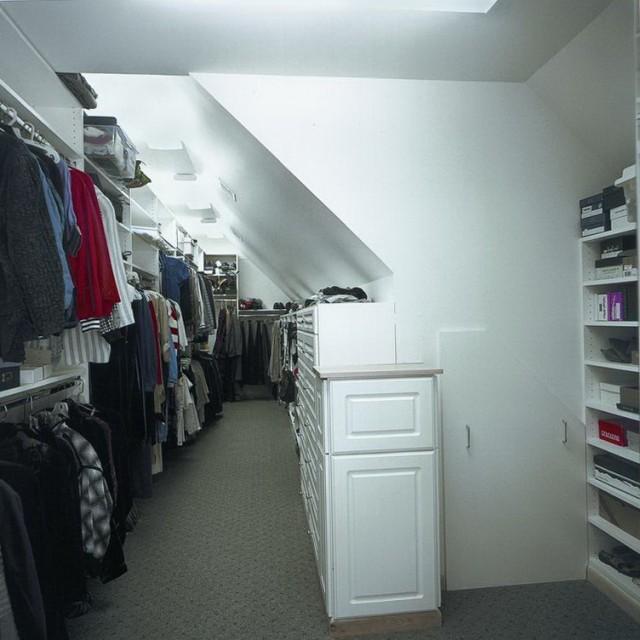 Walk In Closet Ideas Attic