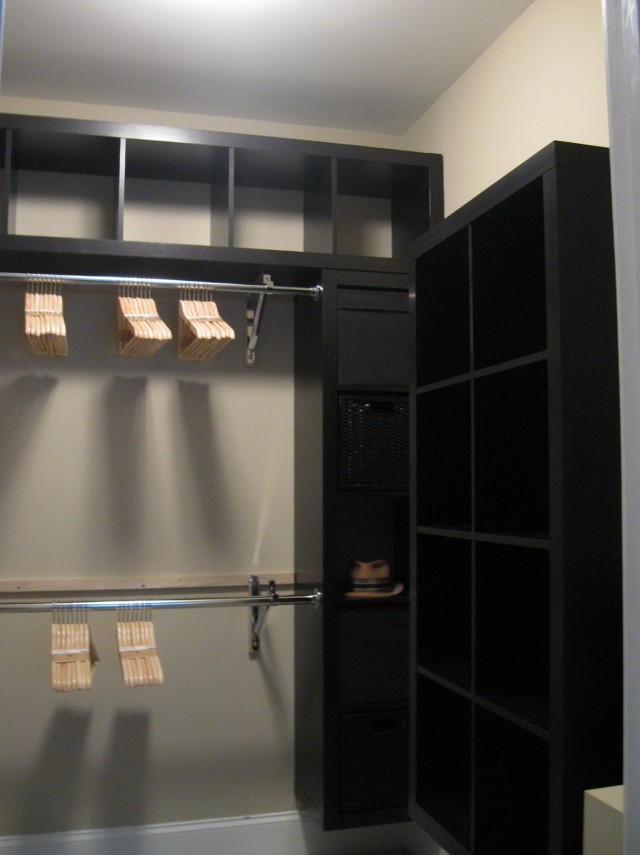 Walk In Closet Ikea Hack