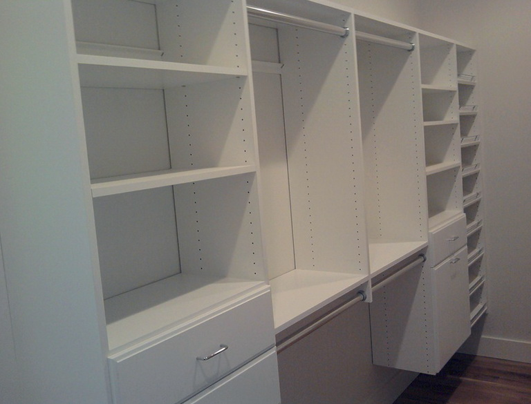 Walk In Closet Shelving Systems