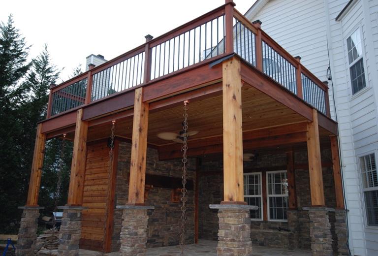 Waterproof Under Deck Ceiling Home Design Ideas