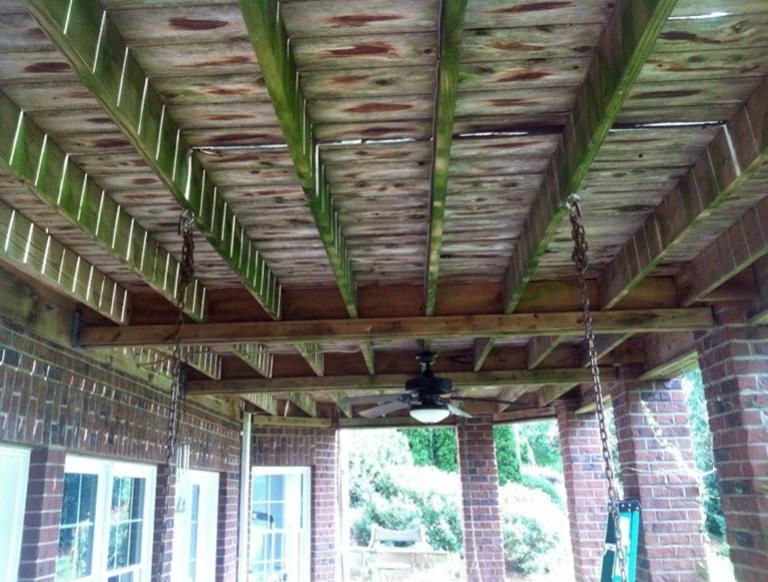 Waterproof Under Deck Diy