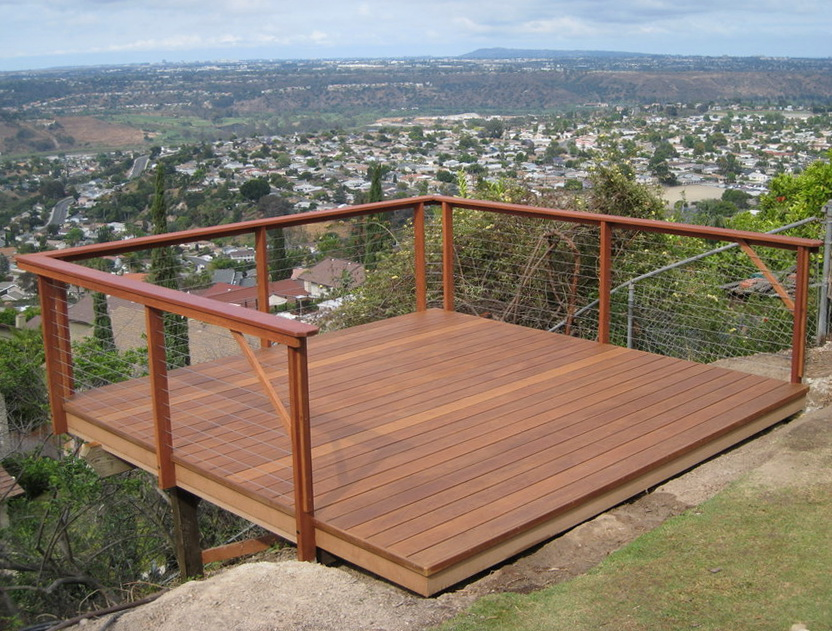 Wire Railing For Decks Home Design Ideas