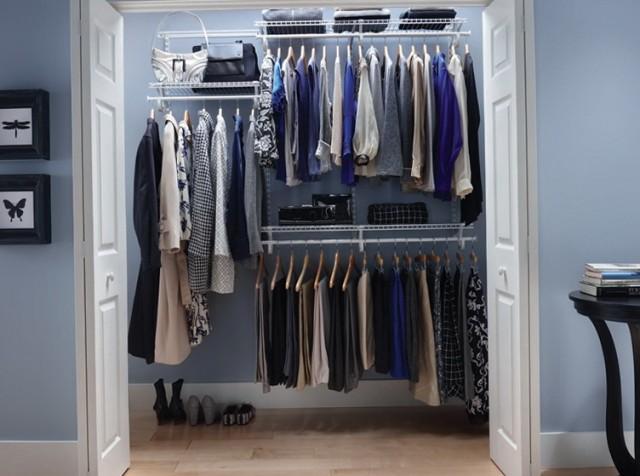 Wire Shelf Closet Ideas
