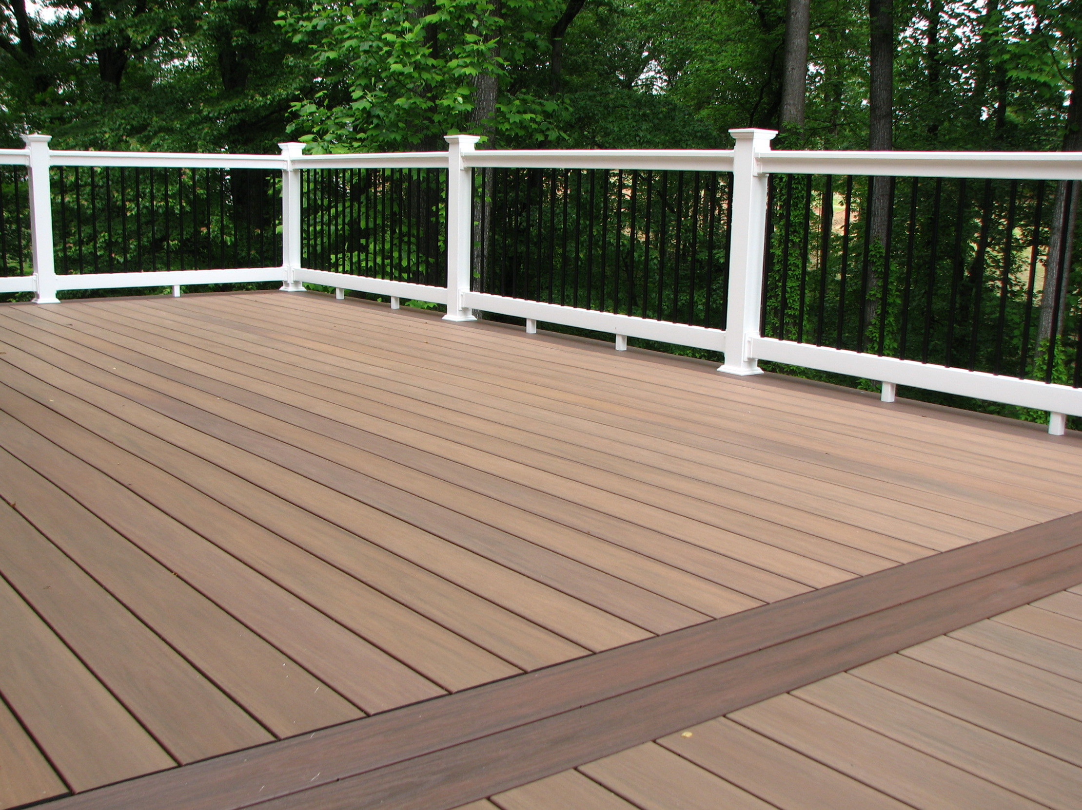 Wolf pvc decking installation home design ideas for How to install decking