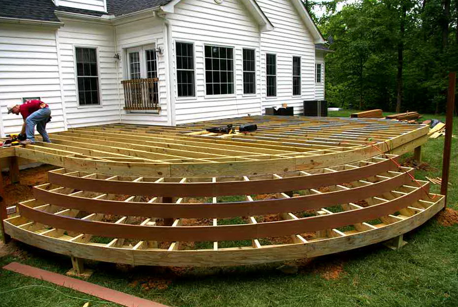 Wood Deck Design Plans