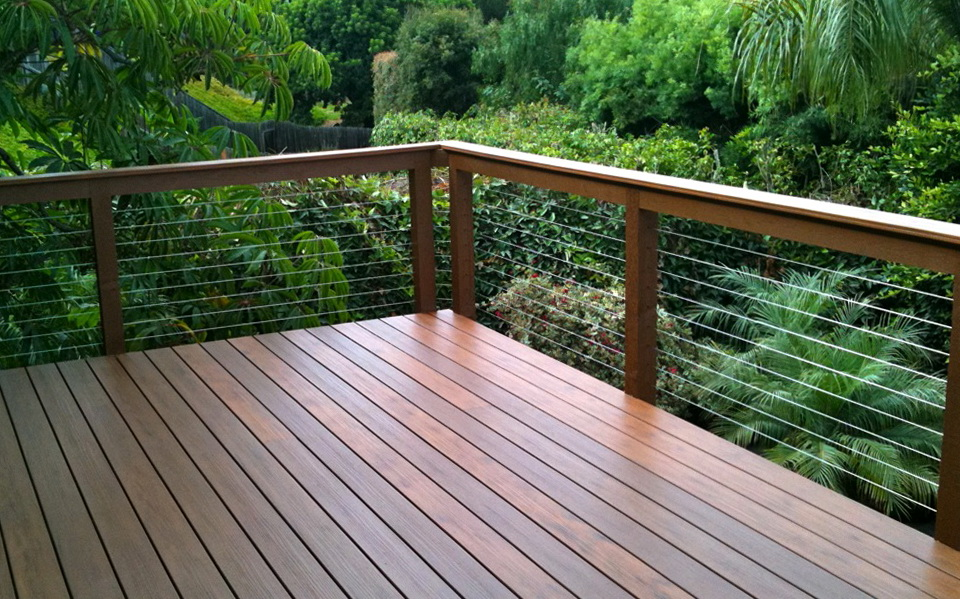Wood Deck Railing Systems