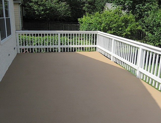 Wood Deck Restoration Coating