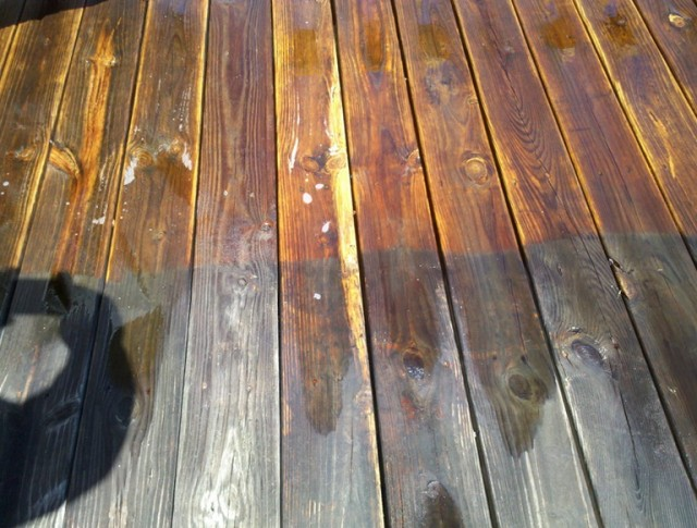 Wood Deck Restoration Diy