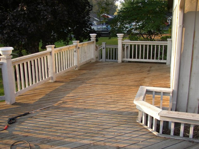 Wood Deck Restoration Products