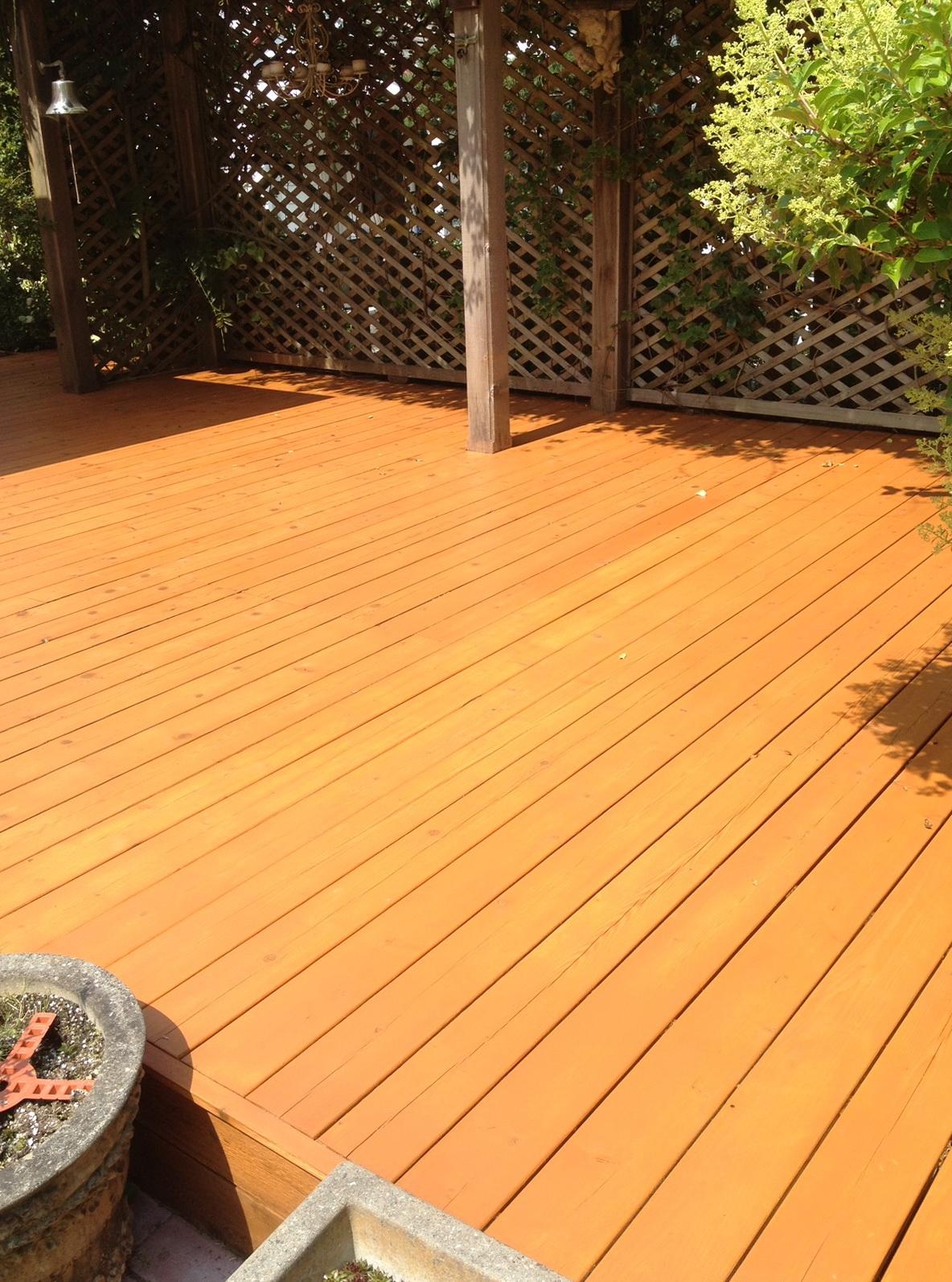Wood Deck Restoration Stain