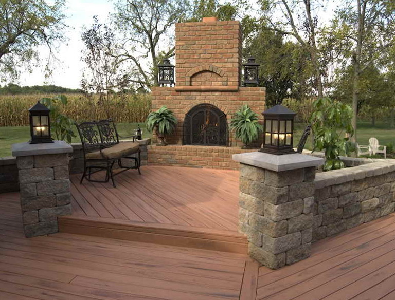 Wood Patio Deck Designs Home Design Ideas